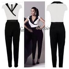 black and white jumpsuit for july 2017 tulips clothing