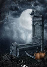 halloween moon background online get cheap vinyl backdrops for photography halloween