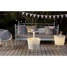 Keter Clamps Vidaxl Co Uk Keter Illuminated Cool Bar White 17204184