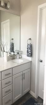 what color kitchen cabinets go with agreeable gray walls agreeable gray color review by rugh rugh design