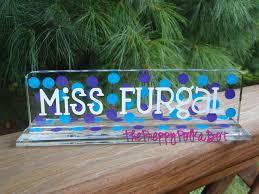 Custom Desk Plaque Best 25 Teacher Name Plates Ideas On Pinterest Teacher Presents