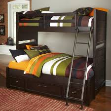 Furniture Twin Over Full Bunk Mattress Set Discovery World