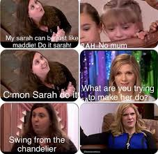 Dance Moms Memes - dance moms sarah s mom christy is insane funny pinterest