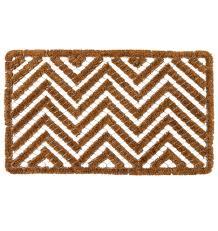 Patio Door Mat Chevron Wire Brush Doormat Rejuvenation