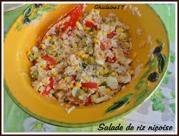 ghislaine cuisine salade de riz niçoise 2ème ghislaine cuisine