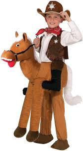 halloween costumes cowgirl amazon com forum novelties ride a horse costume one size toys