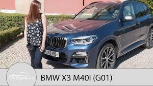 2018 bmw x3 g01 bmw x3 m40i m performance test review