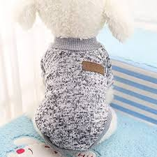 classic sweaters pet puppy warm clothes winter soft cat jacket