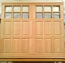 Wilmington Overhead Door by 8x7 Wood Carriage House Overhead Garage Door Amanadoors Model