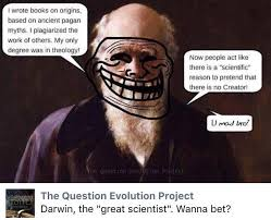 Wanna Bet Meme - creationist memes cringeanarchy