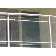 stainless steel glass balcony railing new tech engineers