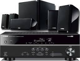 home theater system receiver yamaha rx v381 blutetooth receiver u0026 ns pz40 5 1 speaker package