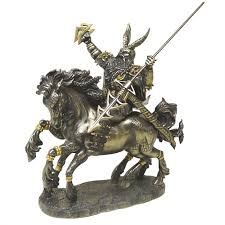 Greek God Statues by Odin On Horseback Norse God Bronze Statue By Derek W Frost