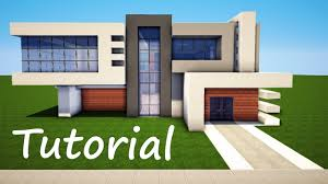 modern house building minecraft how to build a modern house best mansion 2016 tutorial