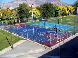 playground games for your sport court backyard court sport court
