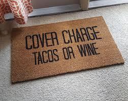 Come In And Go Away Doormat Wine Doormat Etsy