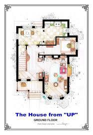 742 Evergreen Terrace Floor Plan Floor Plans Of Famous Fictional Houses And Apartments U2013 Ucreative Com