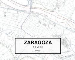 Zaragoza Spain Map by Download Zaragoza Dwg Mapacad