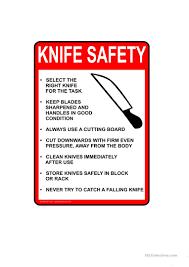 kitchen knives worksheet free esl printable worksheets made by