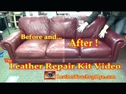 Leather Patches For Sofas How To Repair A Big Tear In Leather Sofa Centerfieldbar Com