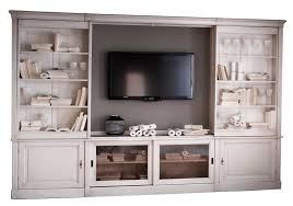 sliding tv bookcase wall unit from grange furniture traditional