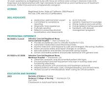 Sample Resume Of Registered Nurse by Rn Resume Template Best 25 Nursing Resume Ideas On Pinterest