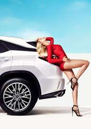 lexus sports car model 2016 lexus rx stars in sports illustrated shoot with hailey