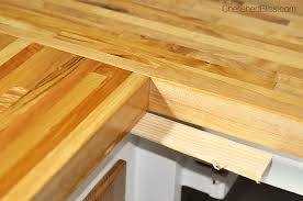 how to install butcher block countertops how to finish and install butcher block countertop cherished bliss