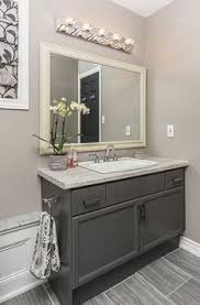 Bathroom Vanity Barrie Chatham Shaker 36 Vanity With Clean Shaker Design In A Warm Grey
