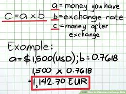 Exchange Rate How To Calculate Exchange Rate 9 Steps With Pictures Wikihow