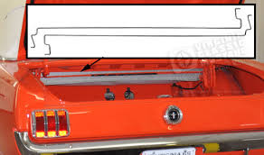 mustang convertible trunk 65 66 mustang coupe and convertible trunk lid torsion rod