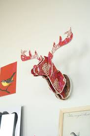 20 best chambre enfant images on pinterest chronicle craft make your own paper deer head