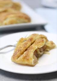 Saving Dinner by Easy Apple Strudel With Canned Fruit And Puff Pastry