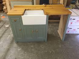 Stunning Standing Kitchen Sink Unit Including Belfast With - Slimline kitchen sink