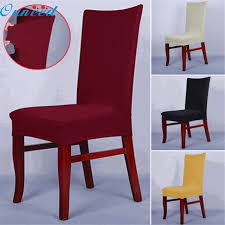 Dining Room Chair Protective Covers Home Wider Ouneed Dining Chair Covers Spandex Strech Dining Room