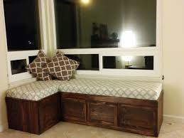 Corner Bench With Storage Beautiful Window Bench With Storage Window Seat Storage Bench