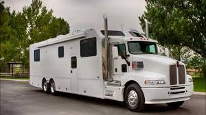 kw tractor trailer custom kenworth motorhome youtube