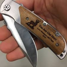 personalized pocket knife you are our engraved knife for christmas gift for