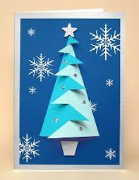 3d christmas cards card templates for 3d christmas tree greeting card