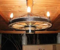 Diy Antler Chandelier Wagon Wheel Chandelier 9 Steps With Pictures