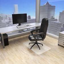 tapis de sol bureau tapis de bureau de protection sol pour chaise de bureau tectake