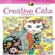 aliexpress com buy creative haven creative cats colouring book