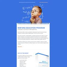 education free responsive email newsletter template