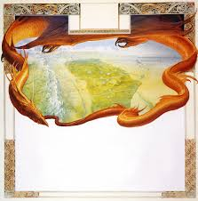 The Hobbit Map John Howe Middle Earth The Map Of The Hobbit Jpg