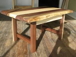 Walnut Live Edge Table by Live Edge Maple And Walnut Table