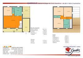 plan maison etage 3 chambres plan de maison 2 etage maison plain pied 2 chambres maison klea