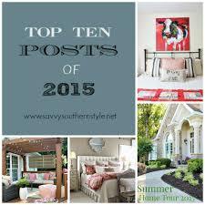 Southern Home Decor Blogs Savvy Southern Style December 2015