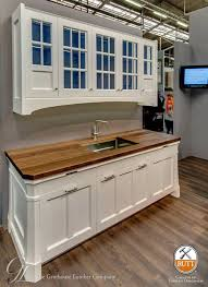 kitchen with white cabinets and wood countertops wood countertops with white cabinetry wood countertop