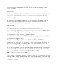 How To Set Up A Resume For A Job by V10 Getting The Job Cover Letters