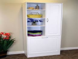 Bathroom Cabinet With Laundry Bin by Bathroom Vanity With Laundry Hamper